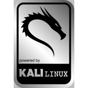 Aluminum Kali Backtrack Linux Case Badge Sticker