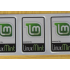Aluminum Linux Mint Case Badge Sticker