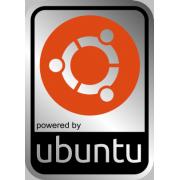 Aluminum UBUNTU Linux Case Badge Sticker