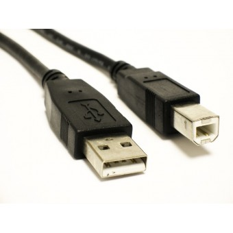 1.8M METER USB 2.0 A TO B HIGH SPEED  CABLE LEAD
