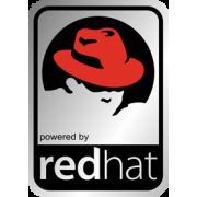 Aluminum Linux Redhat Case Badge Sticker