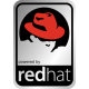 Aluminum Linux Redhat Case Badge Sticker
