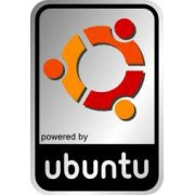 Aluminum Ubuntu Case Badge Sticker
